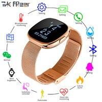 P2 Smart Watch Men Women TopCraft Production Heart Rate Monitor Pedometer Smartwatch Digital Clock Sport Fitness Bluetooth Watch