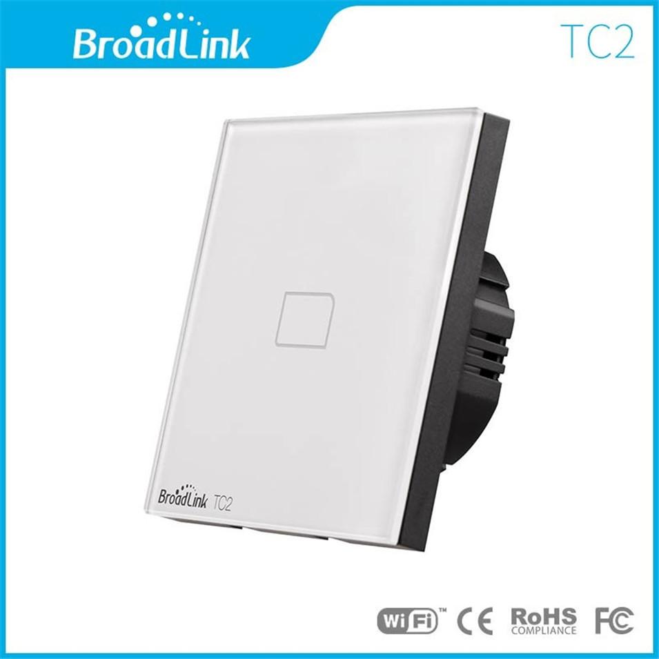 Broadlink EU UK TC2 Wireless 1 2 3 Gang Remote Control Wifi Wall Light Touch Switch 110-240V RF433 Broadlink Rm2 Rm Pro Domotica-2