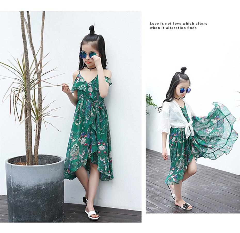 HTB1z0ggbBDH8KJjy1zeq6xjepXac - Girls Dress Bohemia Style Dresses Girls Sleeveless Floral Dress For Adolescents 8 10 12 Big Kids Girls Clothes