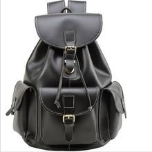 купить Multi-functional Genuine Leather Men Backpacks2017 Travel Bag Backpack Male black  Backpack Schoolbag Business Backpacks Big Bag дешево
