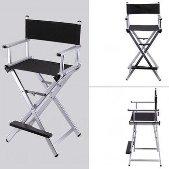 High Aluminum Frame Makeup Artist Director Chair Foldable Outdoor Furniture Lightweight Portable Folding Director Makeup Chair фото