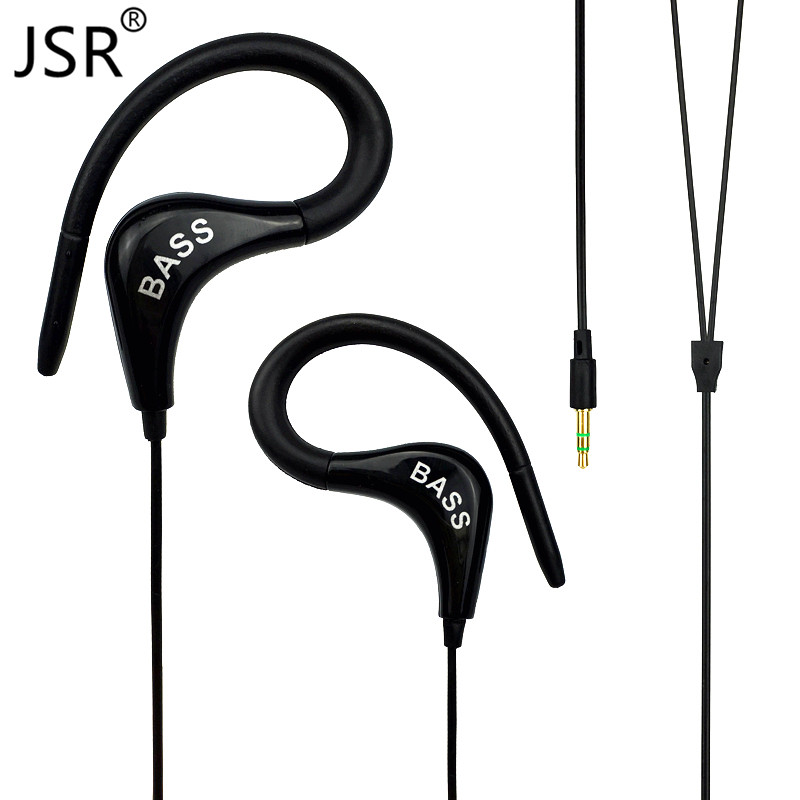 PTM Bass Original Brand Earphone 2016 New Stereo Super Sound Headphones Sport Ear Hook Headset for