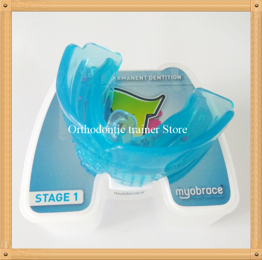 MRC Orthodontic braces T1 trainer Appliance/teenager Dental Orthothdontic trainer alignment Class II Division 1 + 2 malocclusion myofunctional infant trainer phase ii hard oringal made in australia infant primary dentition trainer girls