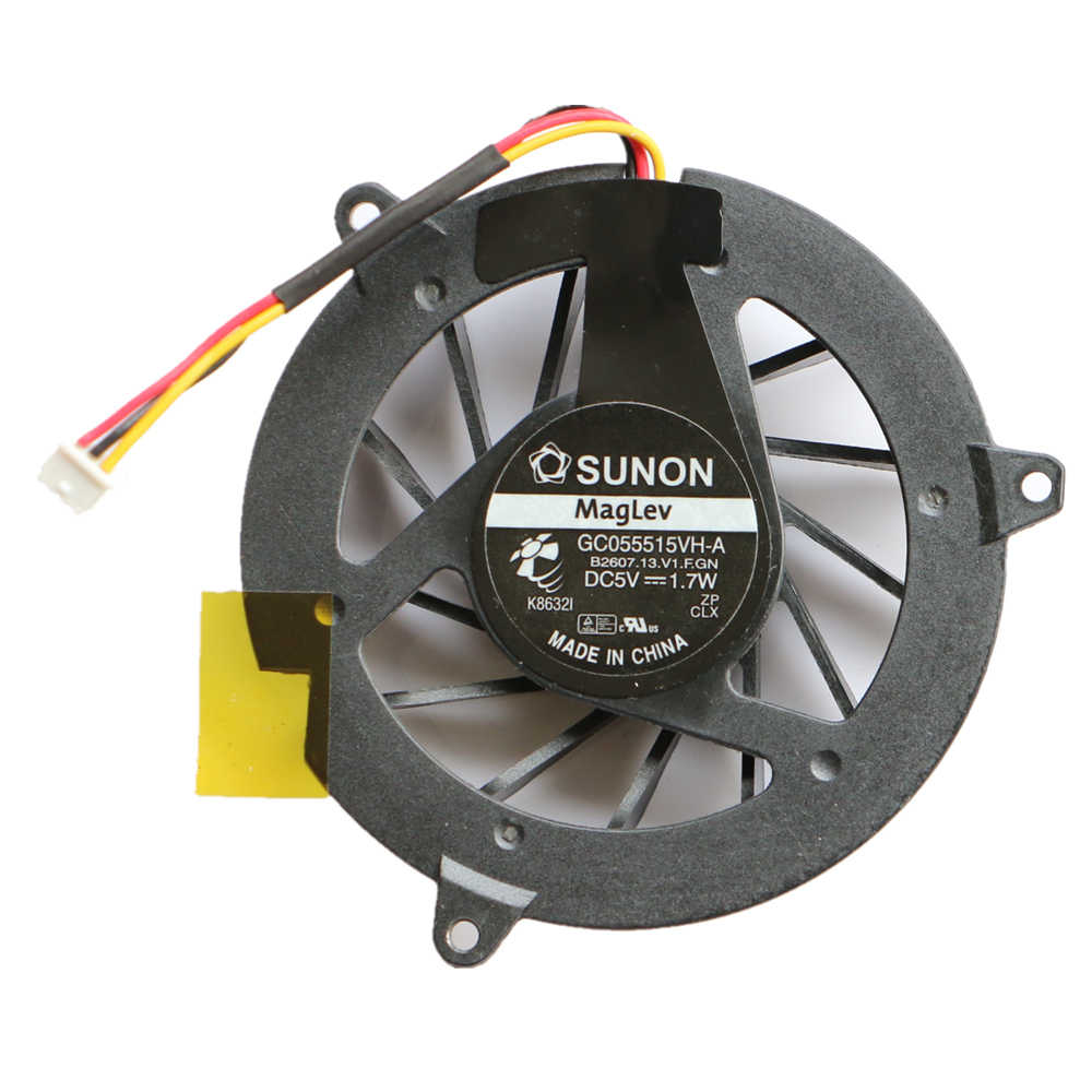 New SUNON GC055515VH-DC5V 1.7 Wát Cpu Fan Cho Acer Aspire 3050 5050 4310 4315 4710 4710 Gam 4715Z 4920 5920 Cpu Cooling Fan
