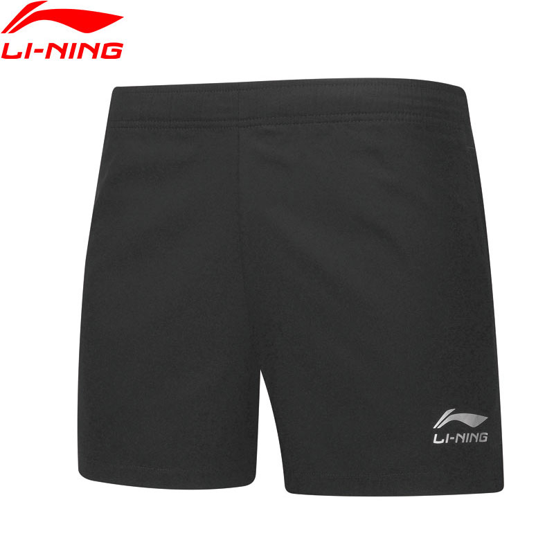 Li-Ning Men Table Tennis Shorts Breathable Regular Fit Teamwear LiNing Basic Competition Sports Shorts AAPP075 MKD1611(China)