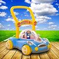 Bebé multifuncional andador bebé niño niño cochecito puede acelerar música andador
