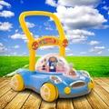 Bebê multifuncional walker bebê criança criança carrinho de criança pode acelerar walker música