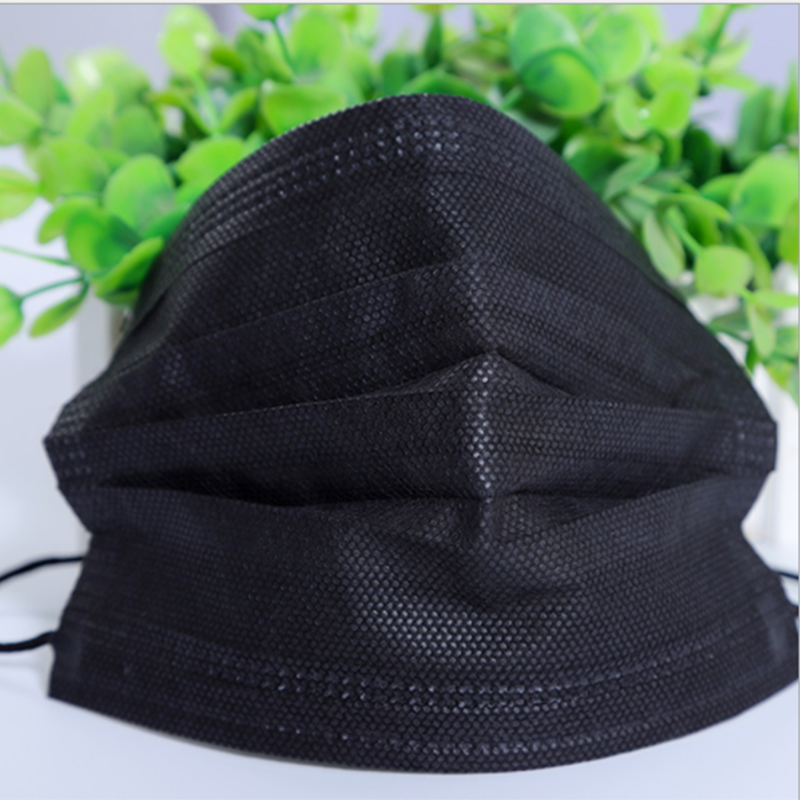 Apparel Accessories Men's Accessories 10pcs/pack Black Non Woven Disposable Face Mask 4 Layer Medical Dental Earloop Activated Carbon Anti-dust Face Surgical Masks Punctual Timing