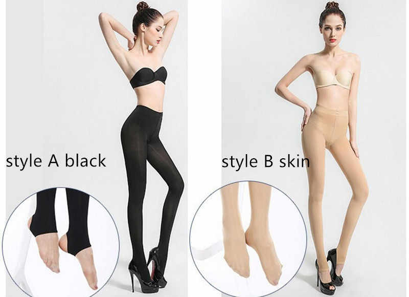 336ca8331aeda ... Magic stockings anti-hook thin section steel wire stockings authentic  flesh-colored legs shaping