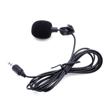 1 PC Mini Hands Free Clip On Lapel Microphone Mic For PC Notebook Laptop Skype 3.5mm Microphones