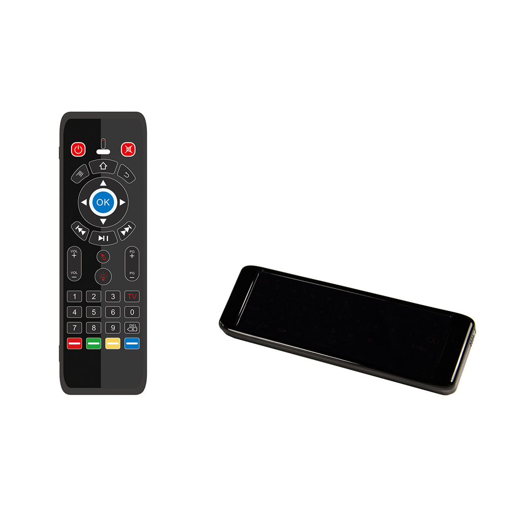 New T16 Backlight 2.4G Air Mouse Wireless Smart Remote Control Keyboard QWERTY Backlit For Andriod TV Box Projector IPTV HTPC PC
