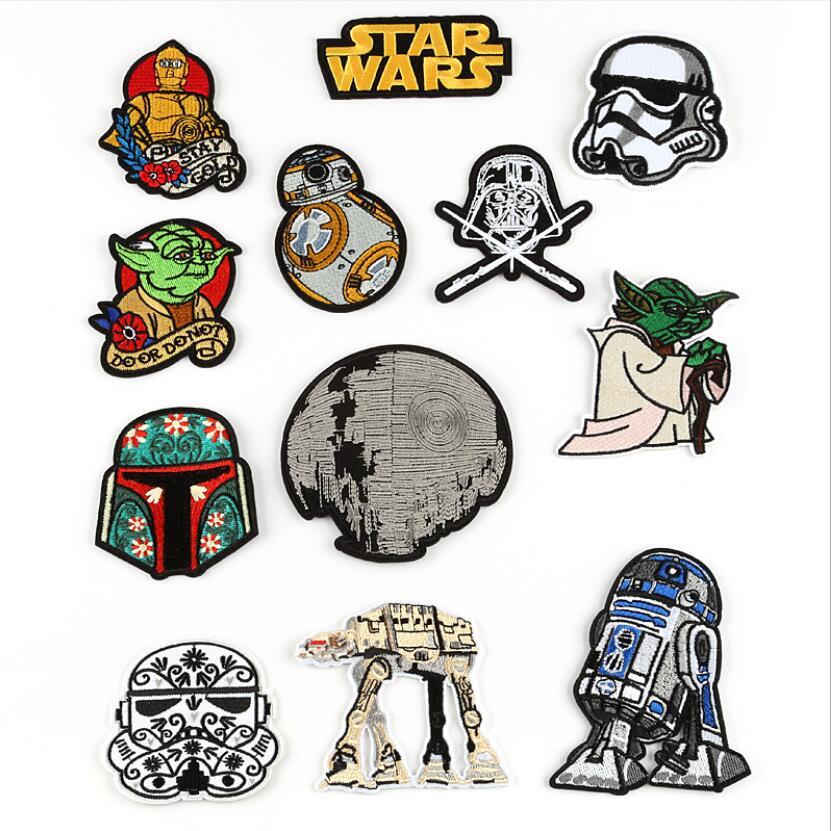 Star Wars Jedi Master Yoda iron on patches movie TV
