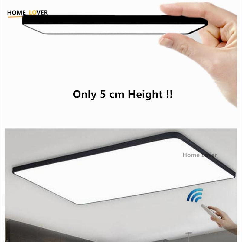 HomeLover Modern led ceiling lights for Living room Bedroom Kitchen luminaria led ultra thin hall luminaria led ceiling lamp