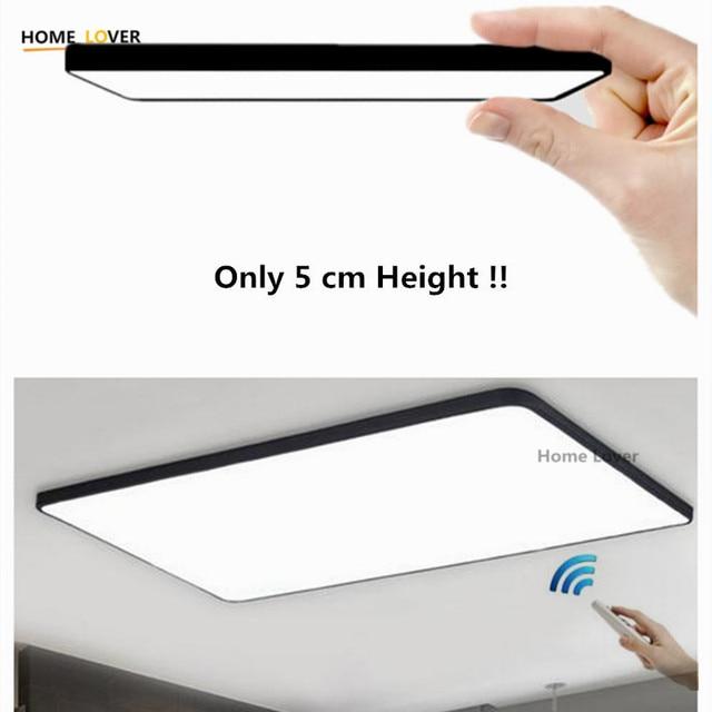 HomeLover Modern led ceiling lights for Living room Bedroom Kitchen luminaria led ultra-thin hall luminaria led ceiling lamp