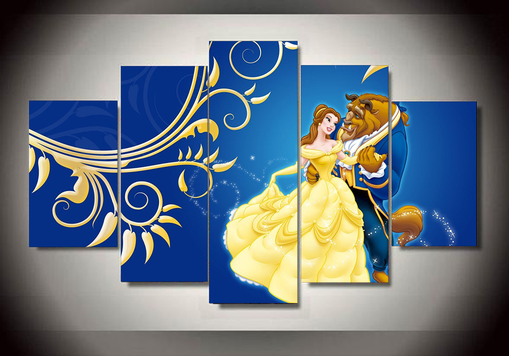 Living room wall decor stickers - Beauty Beast Poster Promotion Shop For Promotional Beauty Beast Poster