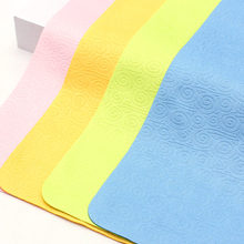 4pcs/pack mixed Chamois Glasses Cleaner Microfiber Cleaning Cloth For Lens Phone Screen Cloths