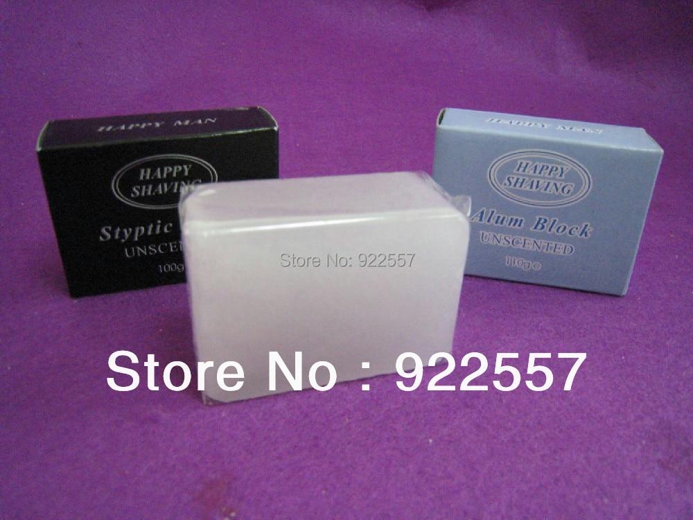 Free shipping of 110g natural alum blockFree shipping of 110g natural alum block