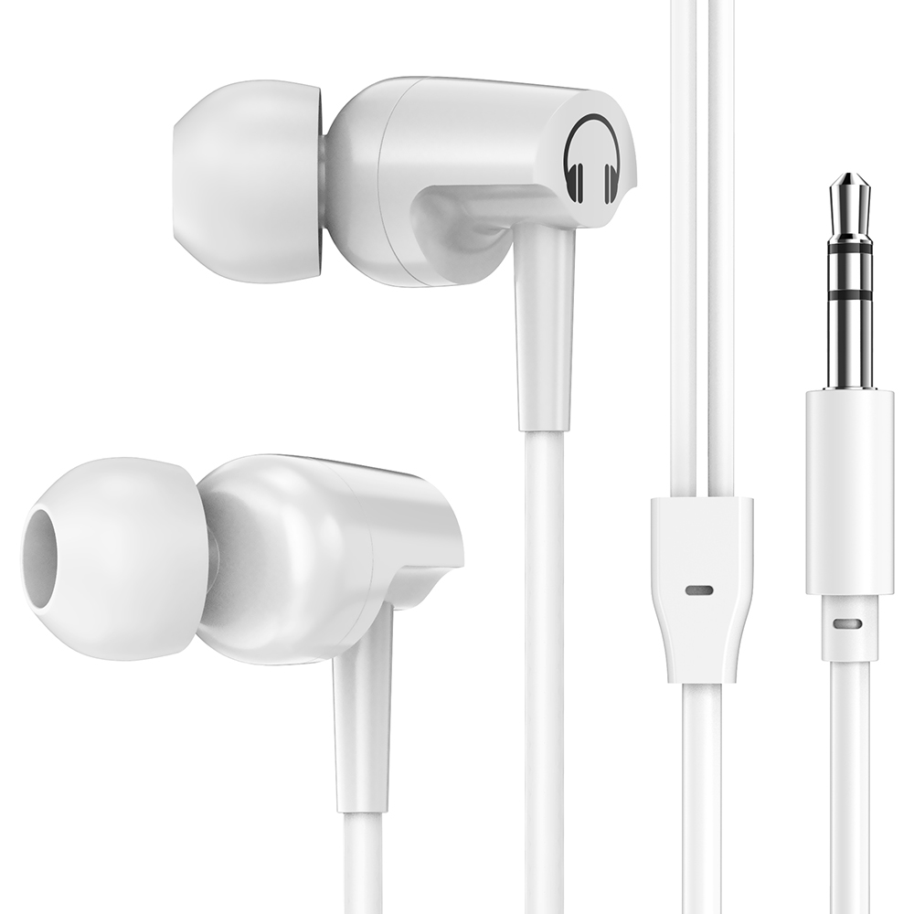 a98af93d2e9 Headphones In-Ear Stereo Earbuds Earphone For Phone Universal Sports  Running Headset for Samsung For