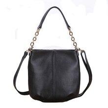 new 2014 women handbag messenger bags  women leather handbags genuine leather vintage Female black cross body messenger bag F012