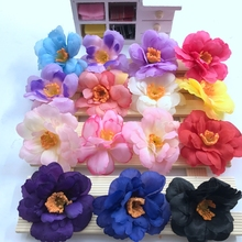 10 PCS rose flowers artificial silk simulation sunflowers clothes at home wedding decoration standard 5.8 cm