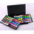 Профессиональные Полный 80 цвет тени для век макияж палитра Shimmer теплый световой тени для век Женщины Косметическая Красота макияж kit Maquiagen