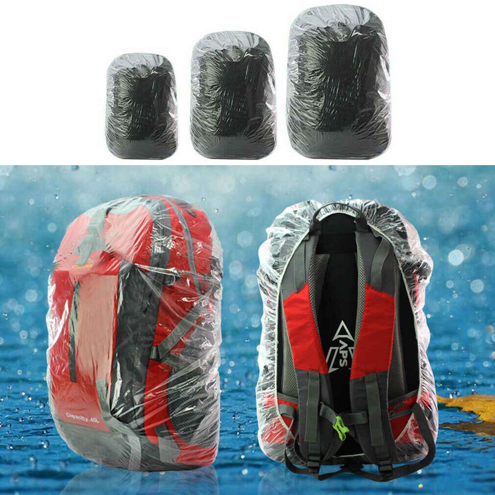2019 heißer Einweg Staub Regen Wasserdichte Rucksack Abdeckung Tragbare Reise Wandern Rucksack Camp Rucksack Tasche