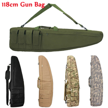 98cm / 118cm Military Shooting Hunting Rifle Bag Sniper Gun Case Tactical Outdoor Airsoft Heavy Carry