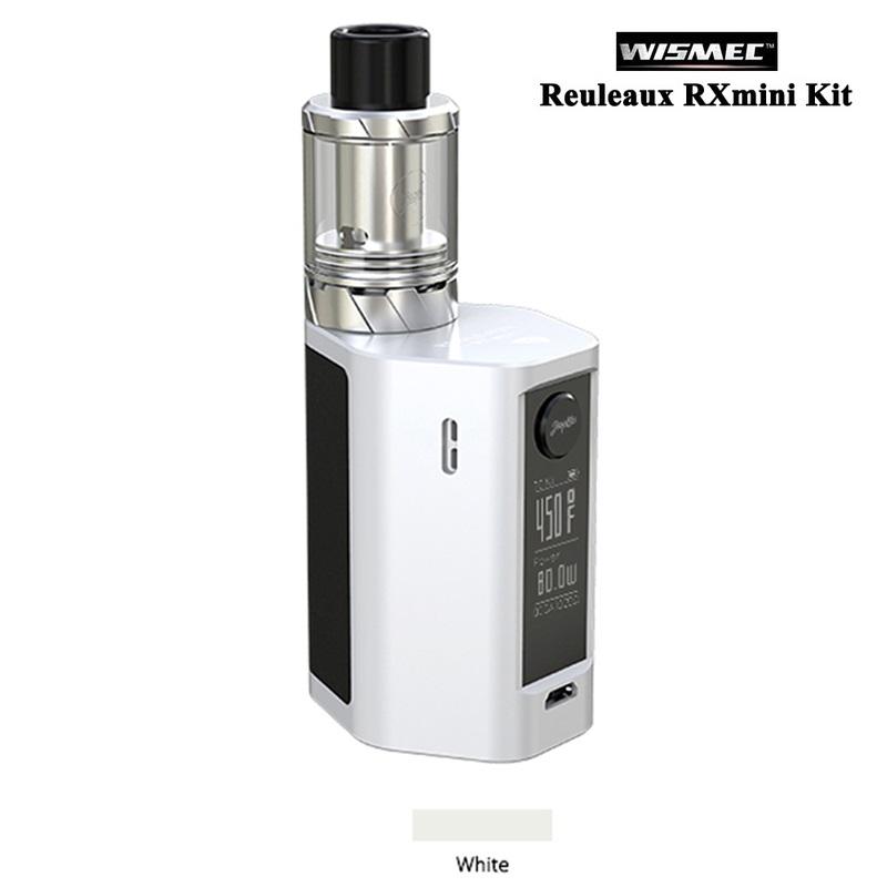 100% Original WISMEC Reuleaux RX mini Kit 80W Box MOD 2100mAh Bult-in Battery rx mini 80w Mod with 2ml Atomizer Tank (5)