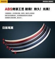 フィット用インフィニティQ50L q50 absリアスポイラーリアウイング異なる色スポイラー