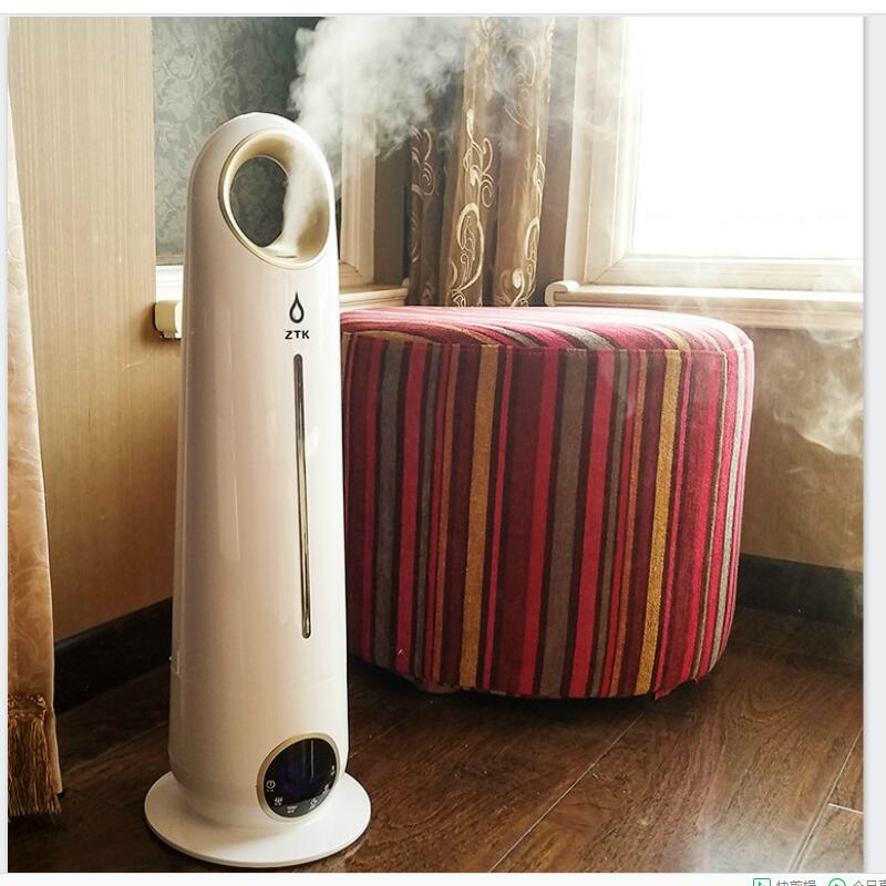 Floor humidifier, home mute bedroom, large capacity office, pregnant woman, baby indoor air machine aromatherapy. floor style humidifier home mute air conditioning bedroom high capacity wetness creative air aromatherapy machine fog volume