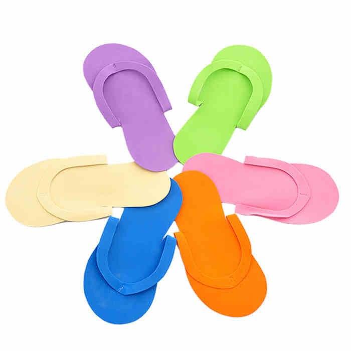 Disposable Slippers Hotel EVA Spa Salon 500-Pairs Thong Pedicure