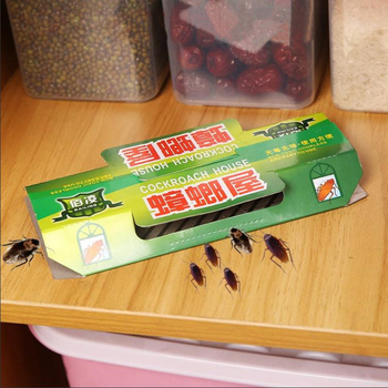10Pcs Cockroach Trap Cockroach House Repellent Killing Bait Strong Sticky Catcher Traps Insect Pest Repeller Eco- friendly фото
