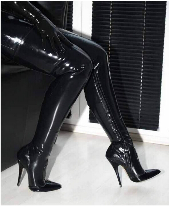 Watch Wife black patent leather high heel boots - 10 Pics at anthonyevans.tk! xHamster is the best porn site to get Free Porn pictures!