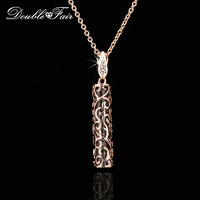 2014 New Opal Stone Plant Pattern Wrapped Party Necklaces Pendants 18K Gold Plated Wedding Jewelry For