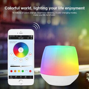 Akses Internet Nirkabel IBox1 LED Controller Smart Malam Lampu Remote 2.4G Nirkabel Wifi RGB Controller untuk Mi Light RGBW WW LED lampu Bohlam Lampu