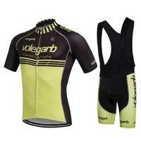 Specialized Men Cycling Sets Bib Shorts Sport Short Sleeve Cycling Jersey Mountain Bike Clothing 2017 Summer