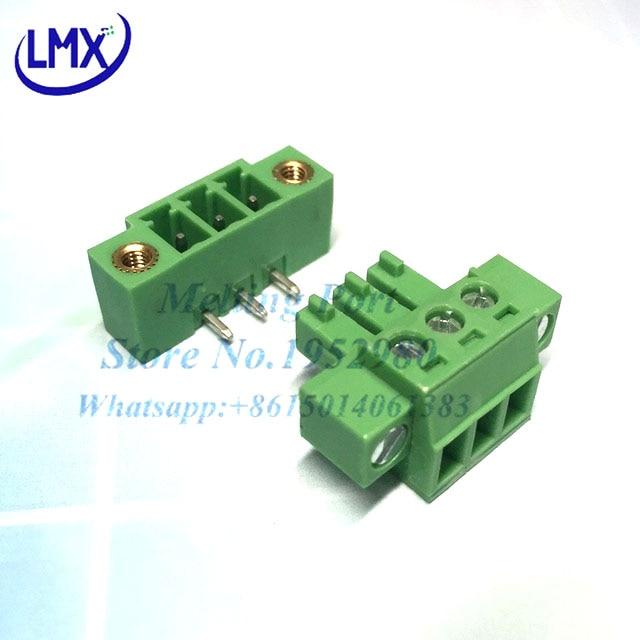 6 Pin Terminal Block Škoda 1j0973713: 20Set 3.81MM Pitch PCB Pluggable Terminal Blocks Connector