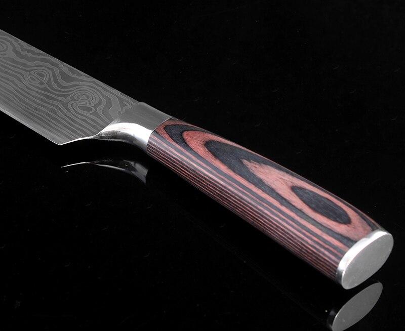 """XITUO 새로운 스타일의 2 개 부엌 칼 세트 8 """"7"""" 인치 일본어 요리사 ..."""