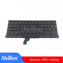 цены Genuine New A1502 Laptop Keyboard for MacBook Retina Pro France/German/Italy/Spain/Russia/Korea/US/UK Keyboard 2013-2015 Year