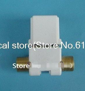Normally Open/NO 1/2BSP High-Temp Brass Plastic 2-Port 2-Position Male Solar Solenoid Valve 12VDC 24VDC Water Air Gas