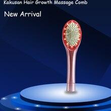head massage comb hair growth comb led head massage comb