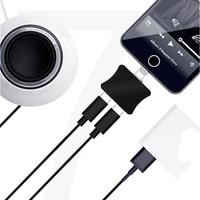Nieuwe Voor IOS 10.3.3 voor Iphone 8 7 7 Plus 2 in 1 Opladen Audio Adapter Jack AUX (niet 3.5mm) kabel Converter voor IOS 11