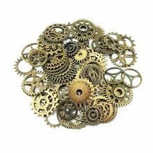20 шт бронзовые детали для часов в стиле стимпанк Cyberpunnk Cogs Gears DIY ювелирные изделия для рукоделия