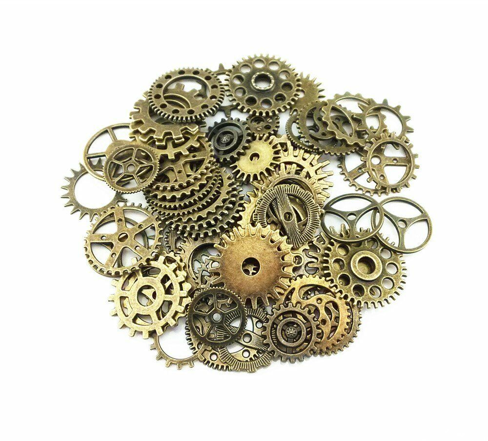 20pcs-bronze-watch-parts-steampunk-cyberpunnk-cogs-gears-diy-jewelry-craft
