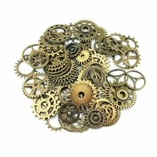 20pcs Bronze Watch Parts Steampunk Cyberpunnk Cogs Gears DIY