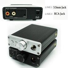 цена на Headphone Amplifier HIFI Dac  AC Professional Audio Desktop Portable Audio Headphone Amplifier 3.5mm RCA Input Dac Amplifier
