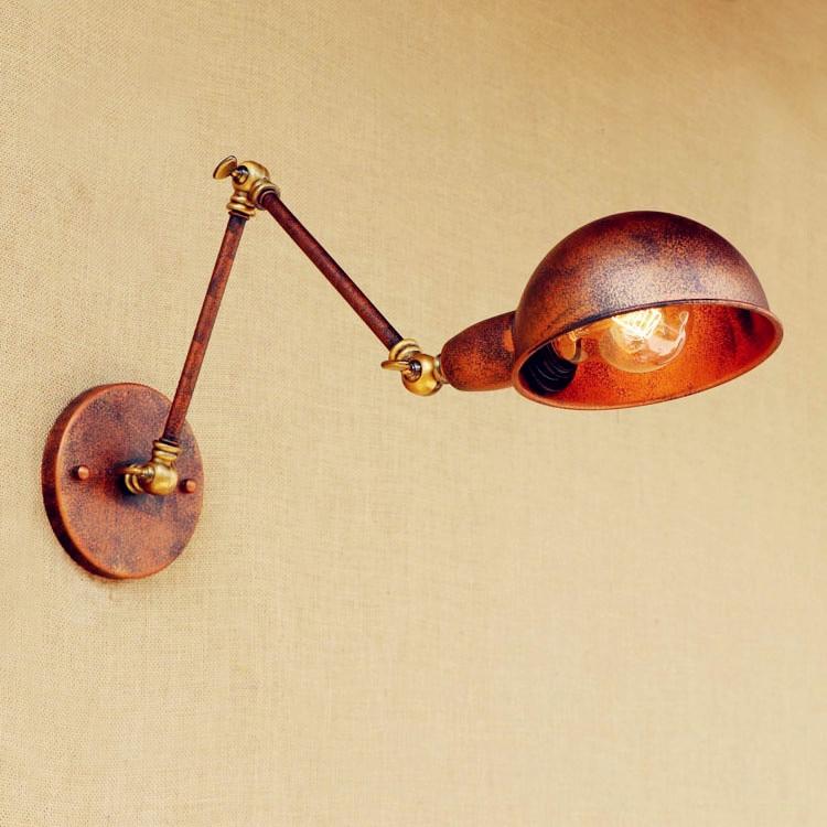 Rustic Retro Vintage Wall Lamp Lights Wandlamp Swing Long Arm Wall Light Fixtures Loft Industrial Antique Edison Wall Sconce 643235 24v solenoid valve for jcb 3cx 4cx perkins series