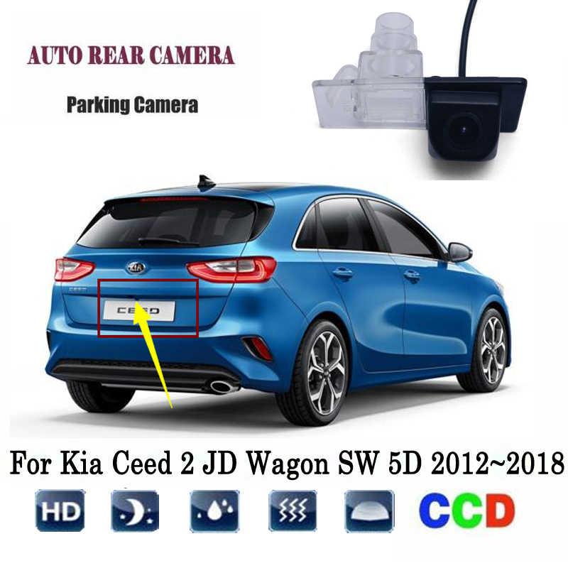 Rear View Camera For Kia Ceed 2 JD Wagon SW 5D 2012~2018 CCD ... Backup Camera Wiring Diagram Kia Sedona on