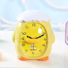 Snooze Cute Cartoon Alarm Clock Children Luminous Talking Clock Table Watch Pokemon Toys Despertador Bedside Clocks 50A0108(China)
