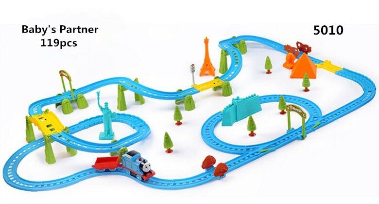 119pcs Thomas And Friends Trains Toys Kid Boy Thomas Electric Rail Road Set Trackmaster Motorized Mini Kids Toys for children